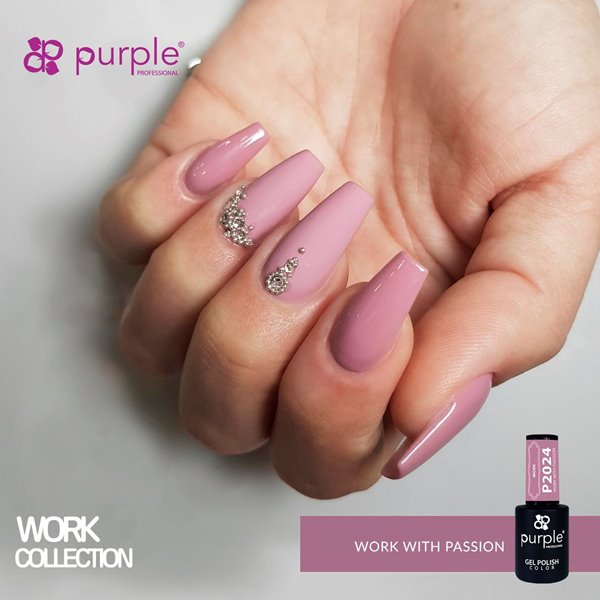 Picture of Purple Verniz Gel Work With Passion 10 ml Ref. P2024