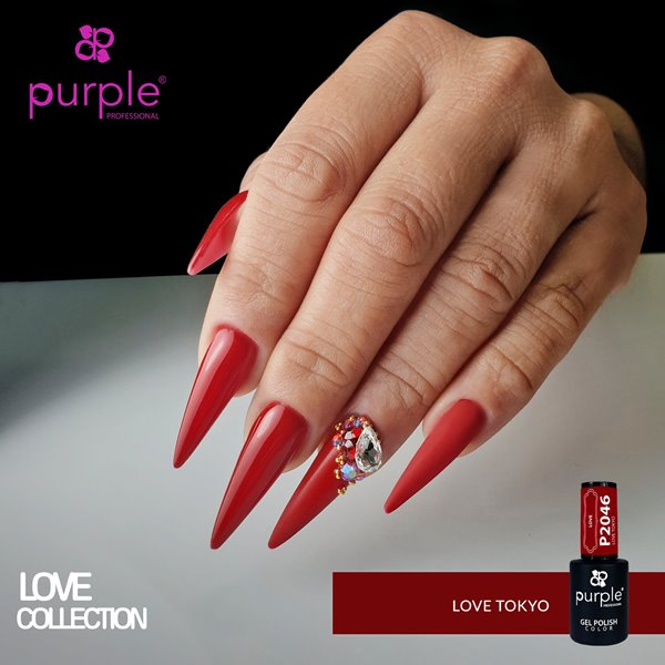 Picture of Purple Verniz Gel Love Tokyo 10 ml Ref. P2046