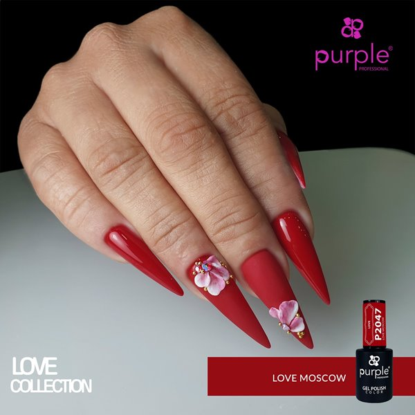 Picture of Purple Verniz Gel Love Moscow 10 ml Ref. P2047