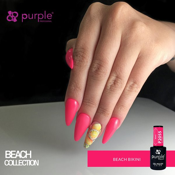 Picture of Purple Verniz Gel Beach Bikini 10 ml Ref. P2055