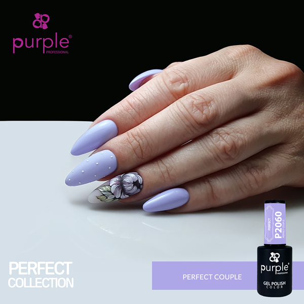 Picture of Purple Verniz Gel Perfect Couple 10 ml Ref. P2060