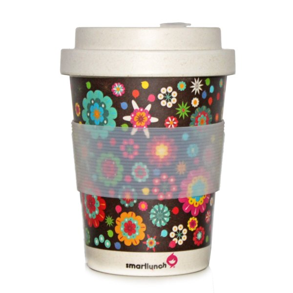 Picture of Smart Eco Cup - Flower Power (ECUP_FP) by Smartlunch