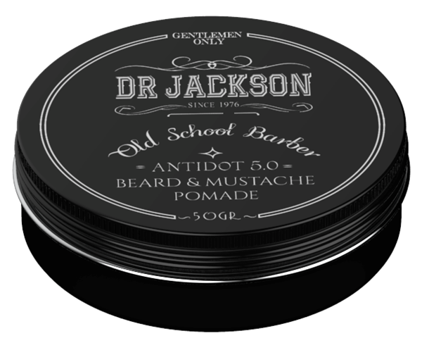Picture of DR JACKSON Antidot 5.0 Pomade Beard & Mustache 50 grs