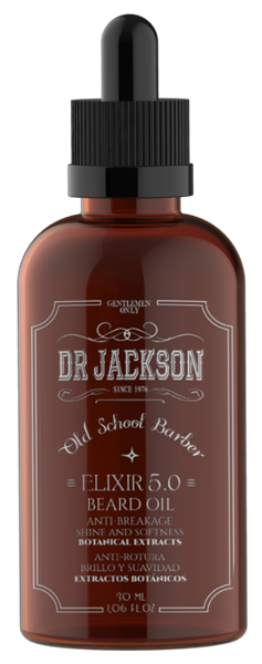 Picture of DR JACKSON Elixir 5.0 Beard Oil 30 ml
