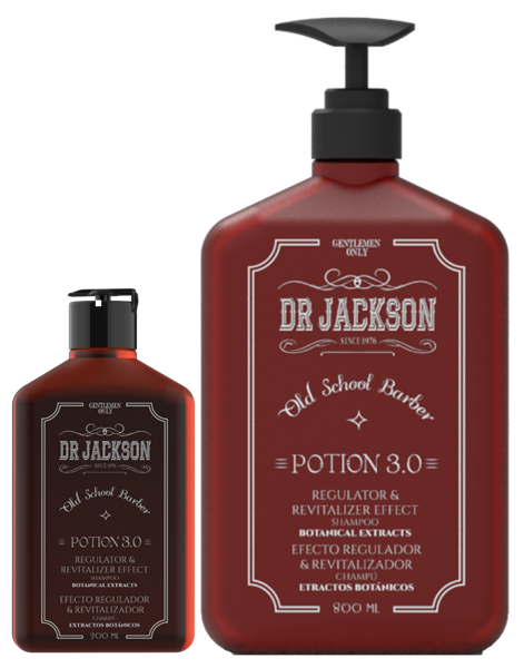 Picture of DR Jackson Potion 3.0 Shampoo Regulator & Revitalizer 200 ml