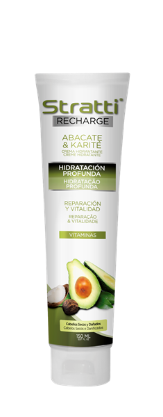 Picture of CREME HIDRAT. ABACATE & KARITÉ - STRATTI RECHARGE 150 ML