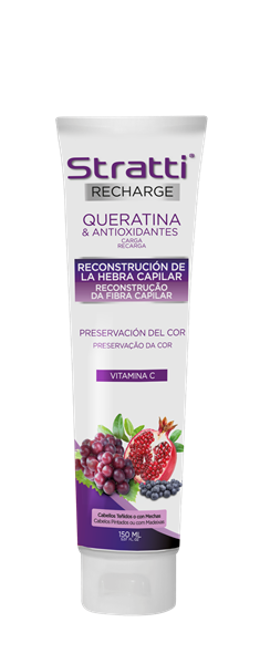 Picture of RECARGA QUERATINA & ANTIOXIDANTES - STRATTI RECHARGE 150 ML