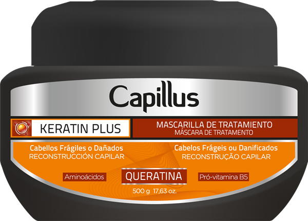 Picture of MÁSCARA CAPILLUS KERATIN PLUS  500g