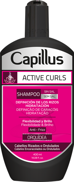 Picture of SHAMPOO CAPILLUS ACTIVE CURLS  400ml