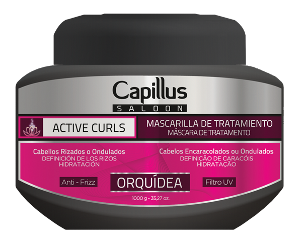 Picture of MÁSCARA CAPILLUS SALOON ACTIVE CURLS  1000g