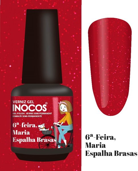 Picture of INOCOS Verniz Gel Maria Espalha Brasas 15ml