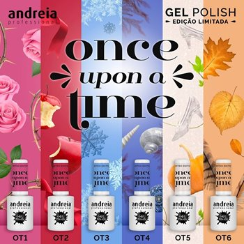 Imagens de Verniz Gel Andreia Once Upon a Time Collection Pack 6 Cores