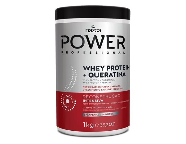 Picture of Nazca Power Whey Protein + Queratina 1Kg