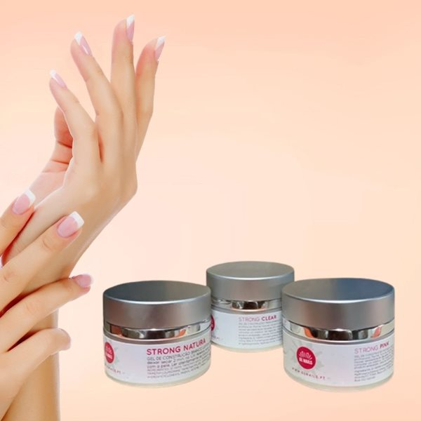 Picture of GL Nails Gel Bifásico Strong 50ml Pink