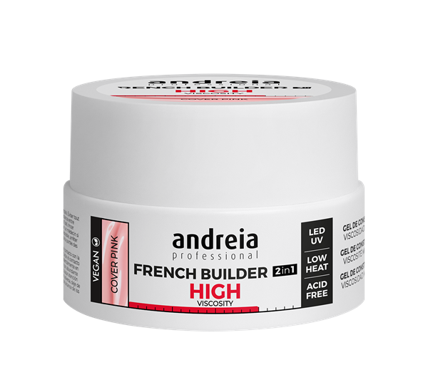 Picture of Andreia French Builder High Viscosity Cover Pink 22Gr