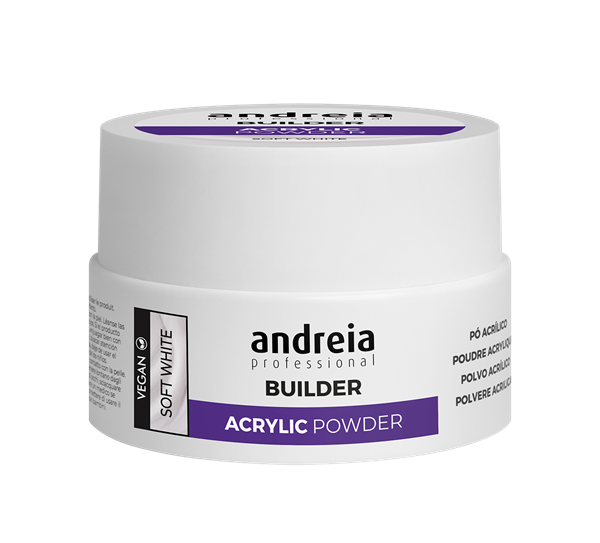 Picture of Andreia Acrylic Powder Soft White 20Gr
