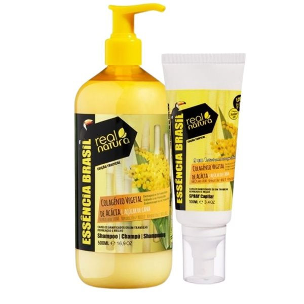 Picture of Real Natura Colagenio Shampoo 500ml + Oferta Spray Protetor Desembaraçante
