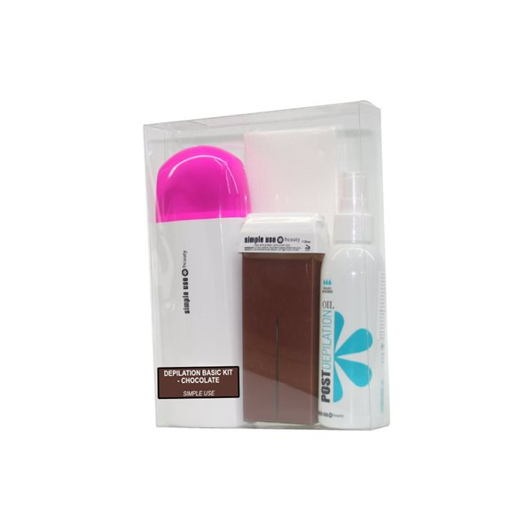 Picture of KIT DEPILAÇÃO - ROLL-ON SIMPLE USE  - CHOCOLATE