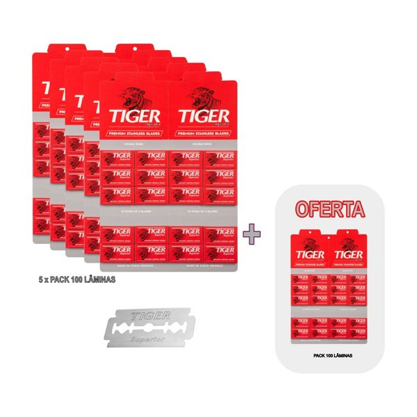 Picture of Lâminas TIGER Superior Pack Promocional