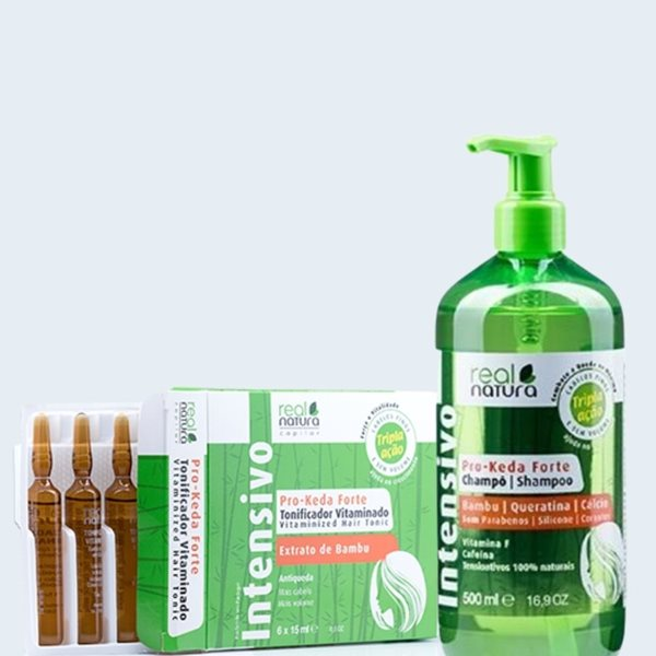 Picture of Real Natura Pack Anti Queda (Shampoo + Ampolas)