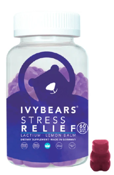 Picture of IvyBears Stress Relief 150GR = 60 Gomas