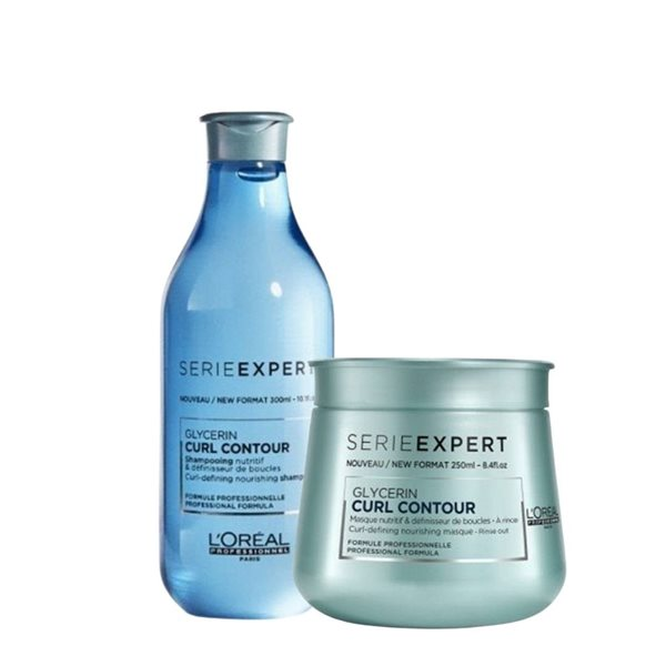Picture of Loreal Pack Curl Contour (Shampoo 300ml + Máscara 250ml)