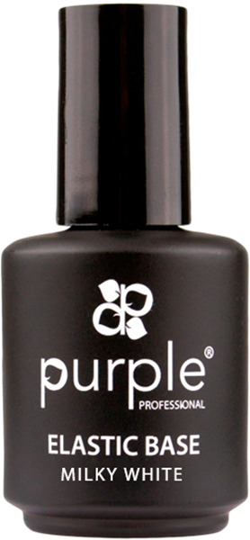 Picture of Purple Elastic Base Milky White